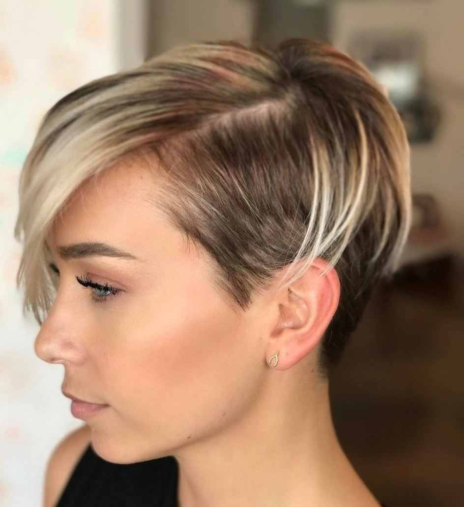 30 Perfect Pixie Haircuts For Chic Short Haired Women – Part 18 With Most Recently Edgy Pixie Hairstyles (View 6 of 15)