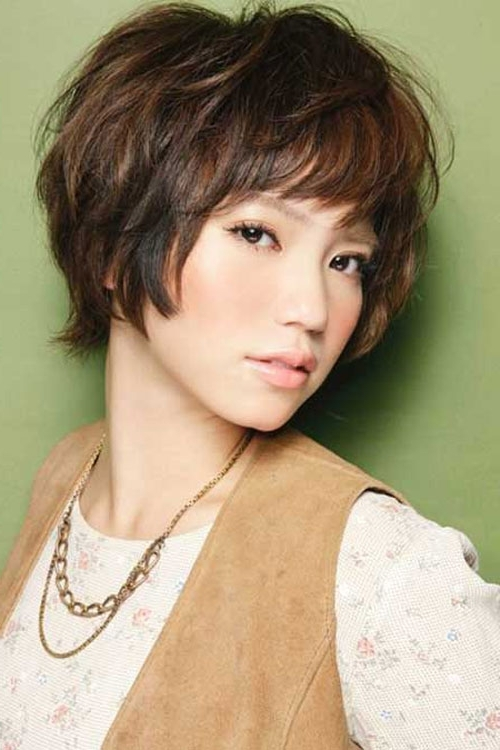 30 Pretty Korean Short Hairstyles For Girls – Cool & Trendy Short Inside 2018 Korean Shaggy Hairstyles (View 7 of 15)