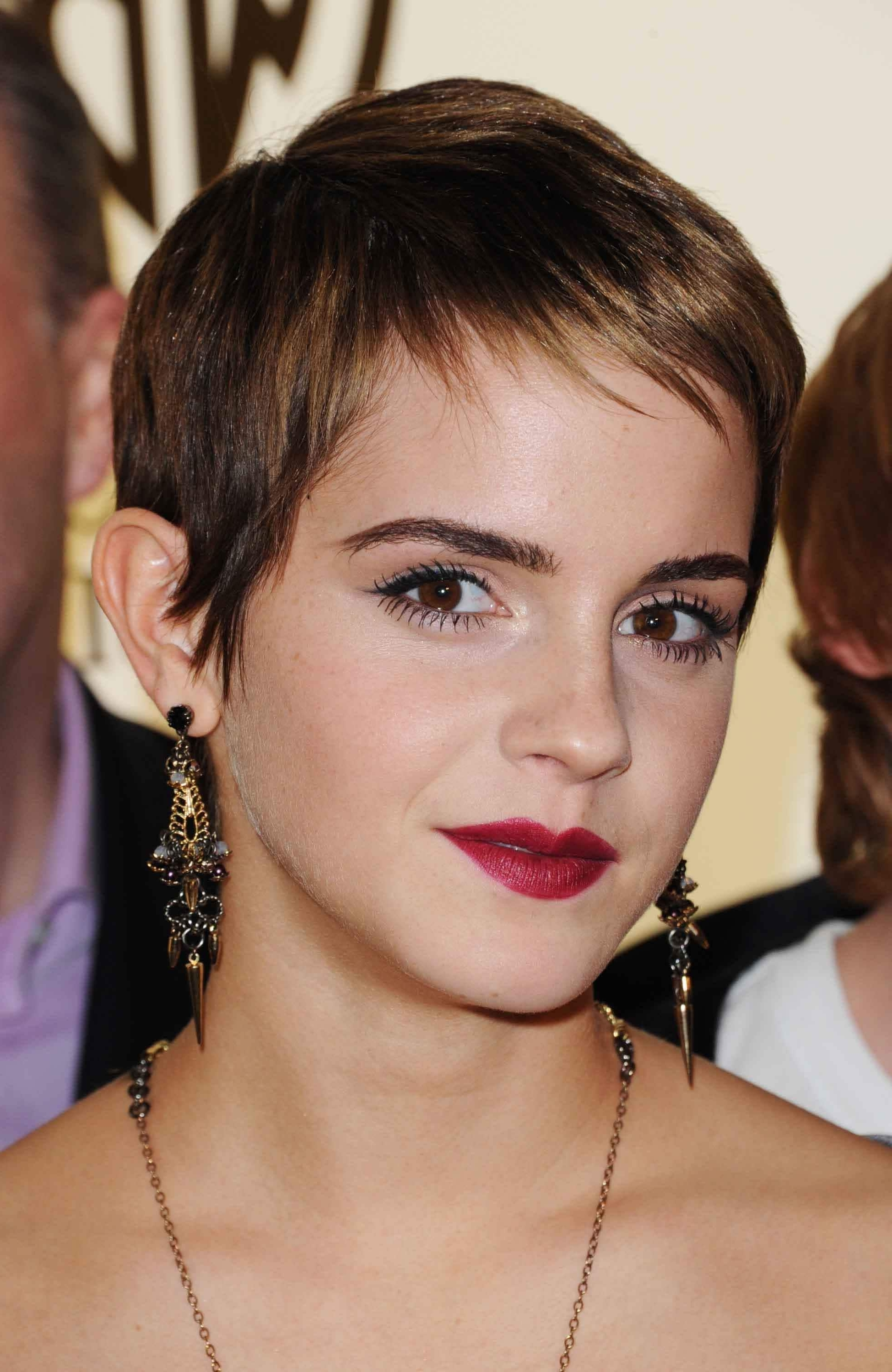 30 Pretty Pixie Cuts Styles Adoreda List Celebrities Throughout Latest Brown Pixie Hairstyles (View 3 of 15)
