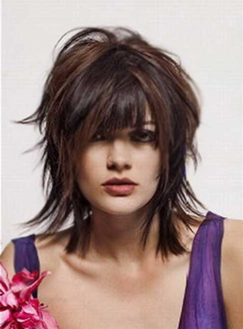 30 Short Shaggy Haircuts | Short Hairstyles 2016 – 2017 | Most Regarding Best And Newest Medium Shaggy Hairstyles For Thin Hair (View 13 of 15)