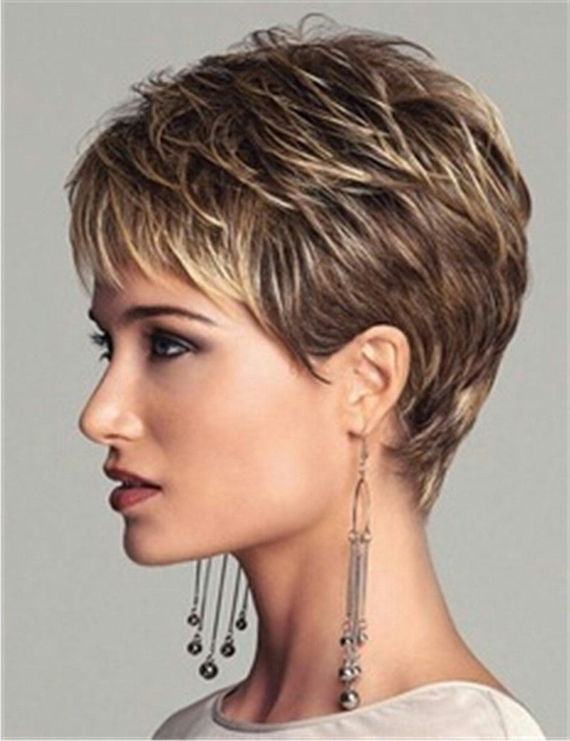 Displaying Photos of Short Pixie Hairstyles For Older Women (View 8 ...