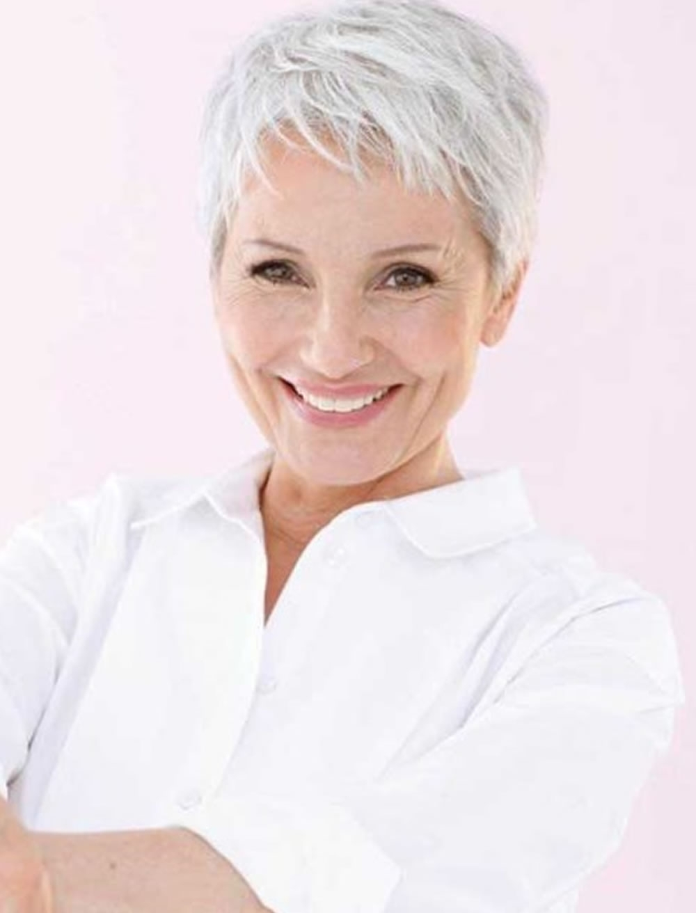 Featured Photo of Pixie Hairstyles For Older Women