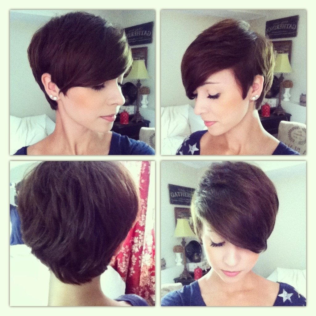 35 Summer Hairstyles For Short Hair | Pixie Cut, Pixies And Throughout Latest Long Hair Pixie Hairstyles (View 3 of 15)