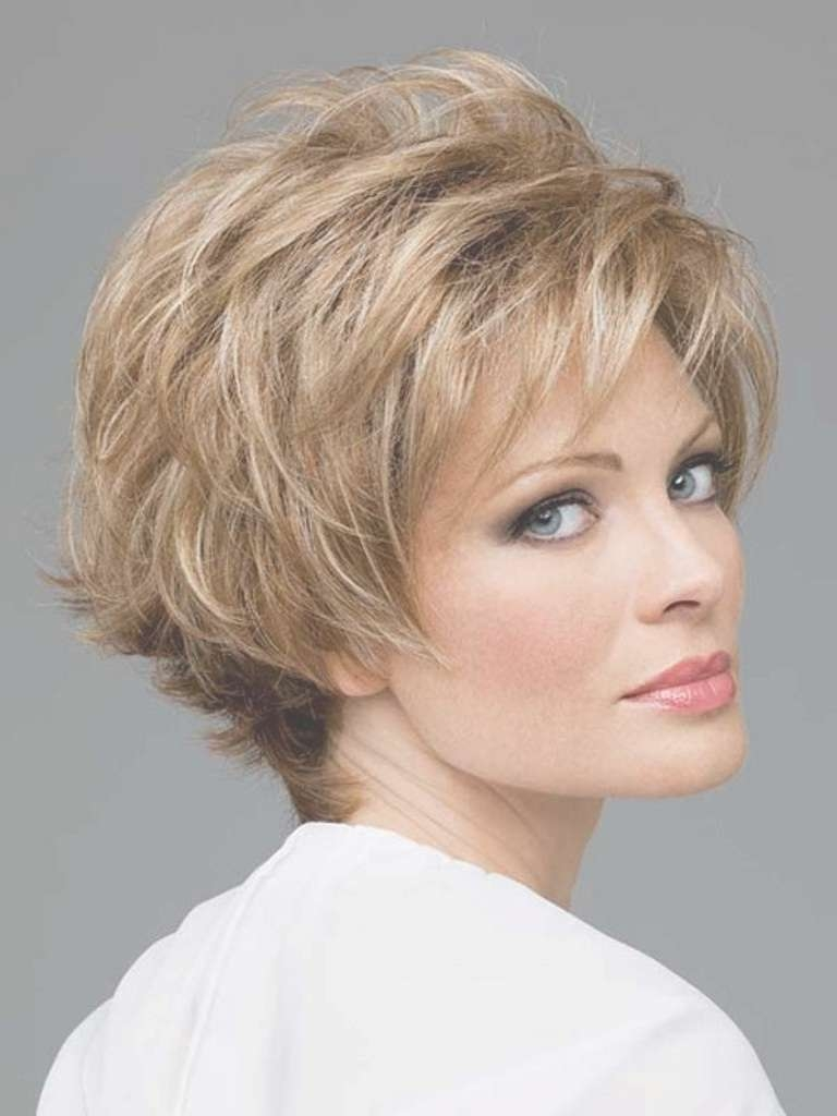 40 Best Short Hairstyles For Thick Hair 2018 – Short Haircuts For Intended For Recent Bob To Pixie Hairstyles (View 8 of 12)