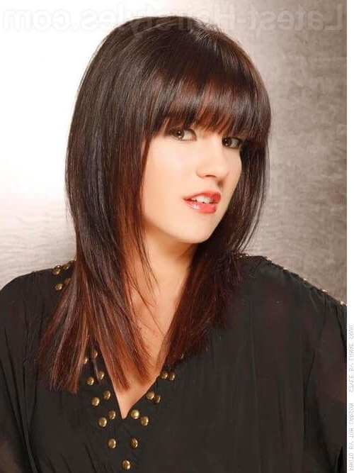 41 Chic Medium Shag Hairstyles & Haircuts For Women 2018 With Most Recent Layered Shaggy Hairstyles For Long Hair (View 8 of 15)