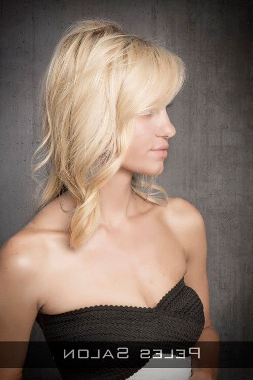 41 Chic Medium Shag Hairstyles & Haircuts For Women 2018 Within 2018 Blonde Shaggy Hairstyles (View 14 of 15)