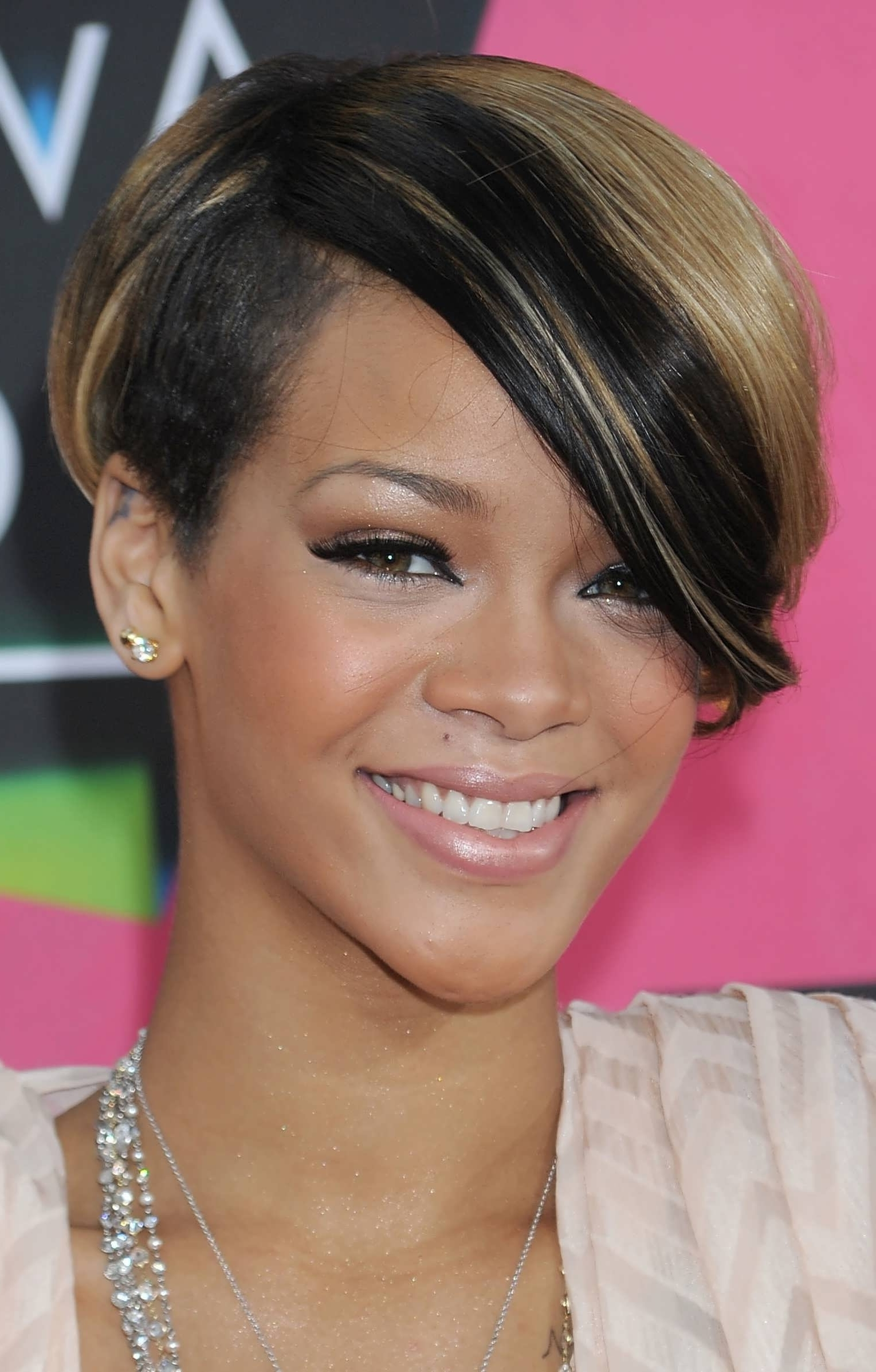 Displaying Gallery Of Pixie Hairstyles For Round Face Shape View 15
