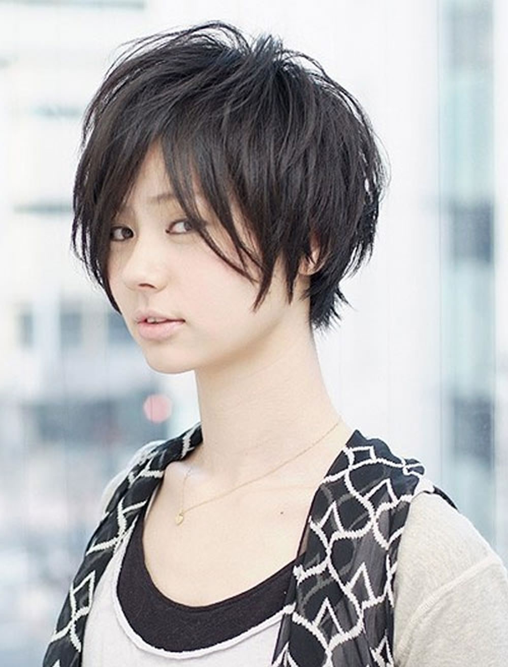 50 Glorious Short Hairstyles For Asian Women For Summer Days 2018 2019 With Most Recently Pixie Hairstyles For Asian Round Face (View 12 of 15)