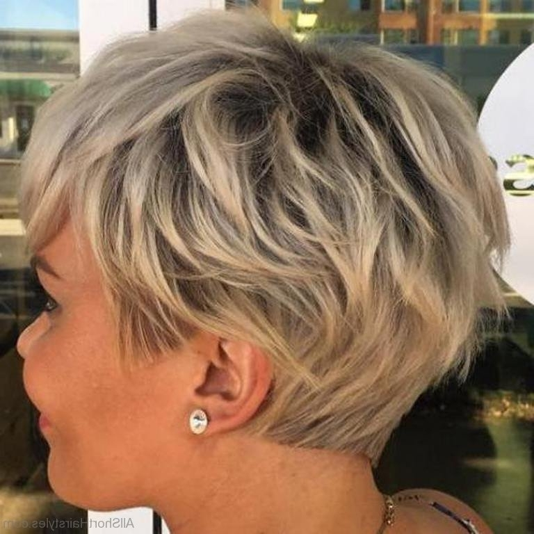 50 Good Looking Shag Hairstyles Pertaining To Most Recent Blonde Shaggy Hairstyles (View 13 of 15)
