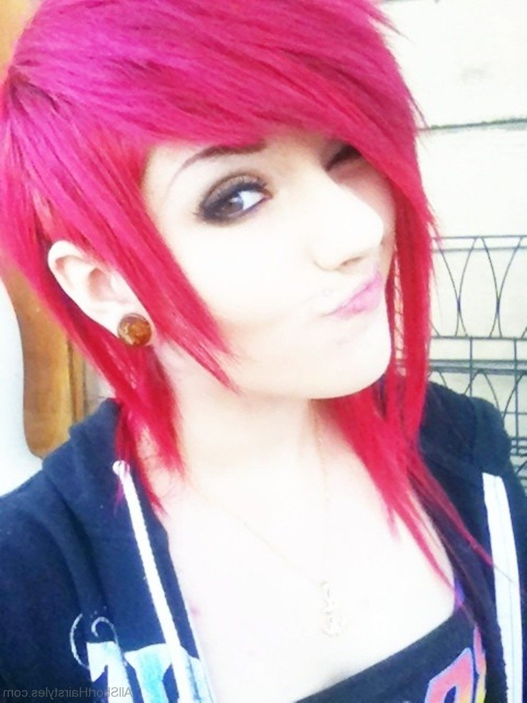 52 Colored Short Emo Hairstyles For Girls In 2018 Emo Pixie Hairstyles (View 2 of 15)