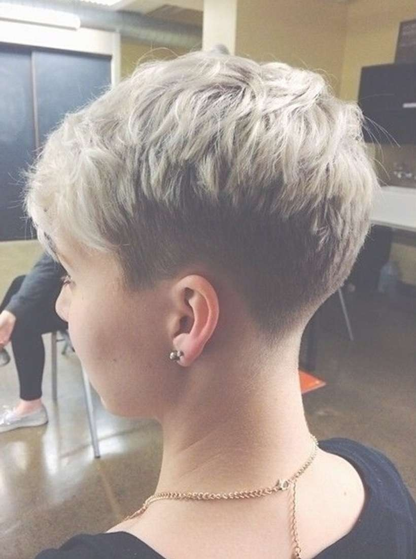 60 Cool Back View Of Undercut Pixie Haircut Hairstyle Ideas For 2018 Back View Of Pixie Hairstyles (View 7 of 15)