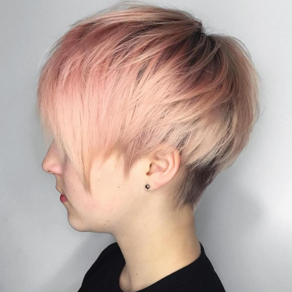 60 Gorgeous Long Pixie Hairstyles   Long Pixie, Undercut And Pixies Regarding Most Current Undercut Pixie Hairstyles (View 11 of 15)