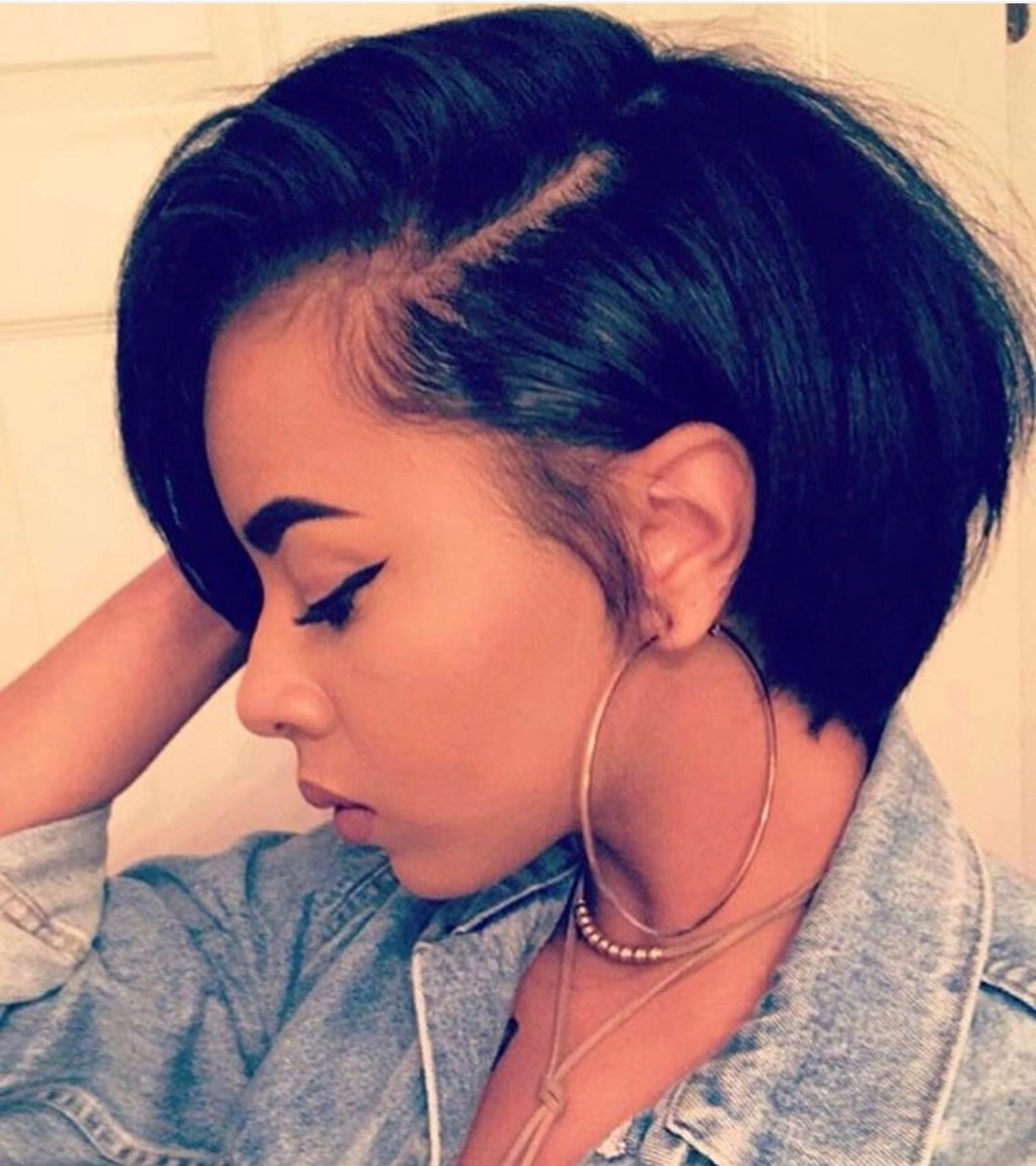 70 Best Short Hairstyles For Black Women With Thin Hair Inside Most Current Pixie Hairstyles For Black Girl (View 7 of 15)
