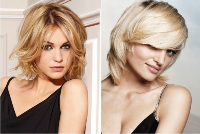 8 Medium Length Hairstyles For A Round Face – Hair World Magazine For Most Recently Long Shaggy Hairstyles For Round Faces (Gallery 6 of 15)