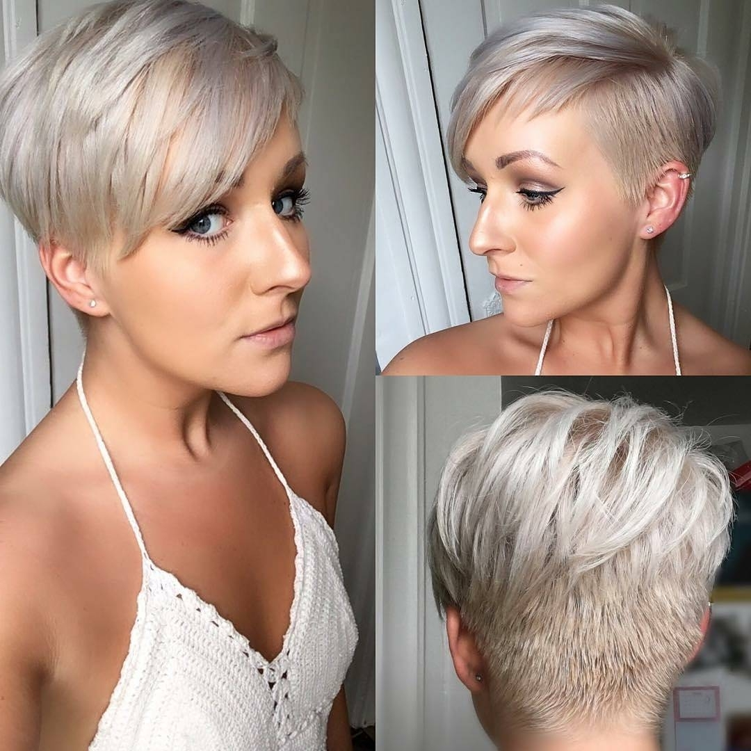 869 Me Gusta, 3 Comentarios – Pixie Hair ? Don't Care Inside Most Popular Stylish Pixie Hairstyles (Gallery 4 of 15)