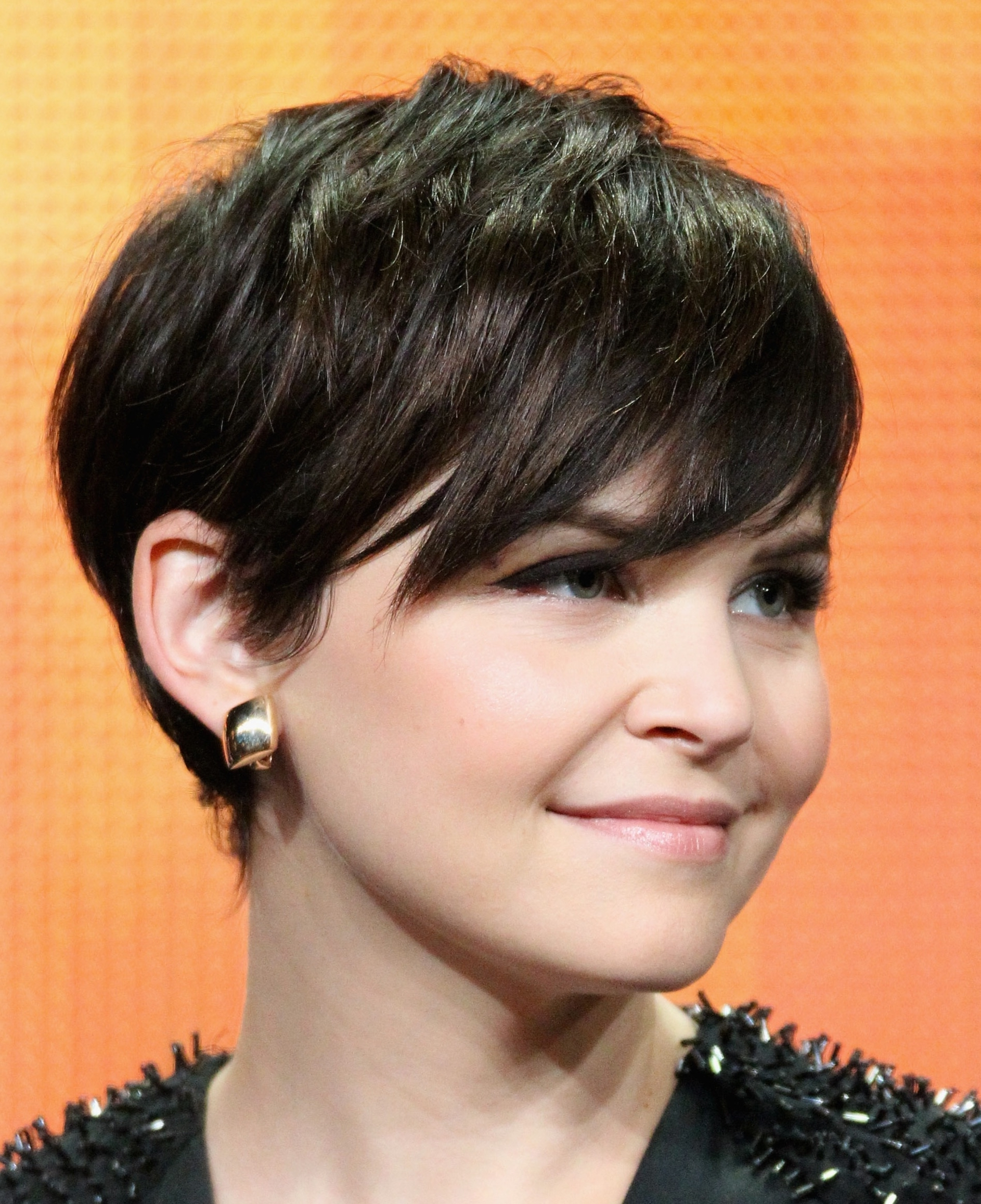 A Gallery Of Short Brown Hair: From Pixies To Shags   Short Dark With Most Recently Pixie Hairstyles For Dark Hair (View 2 of 15)