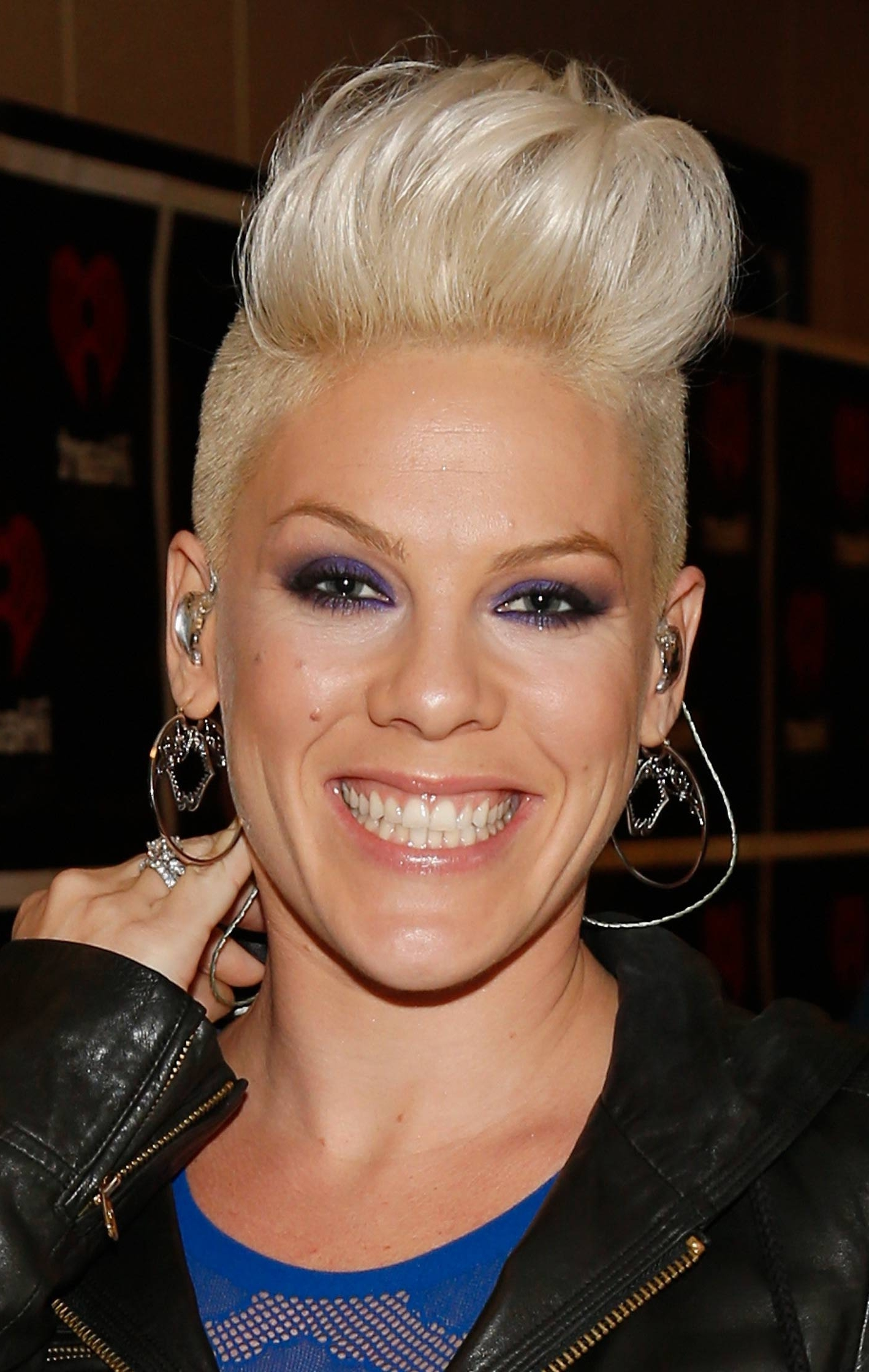 Amazing Pompadour And Quiff Haristyles | Singer Pink, Quiff Regarding Latest Pink Short Pixie Hairstyles (View 13 of 15)