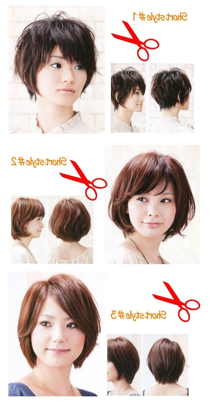 Asian Short Hairstyles For Women – Women Medium Haircut Within Most Recent Pixie Hairstyles For Asian Round Face (View 5 of 15)