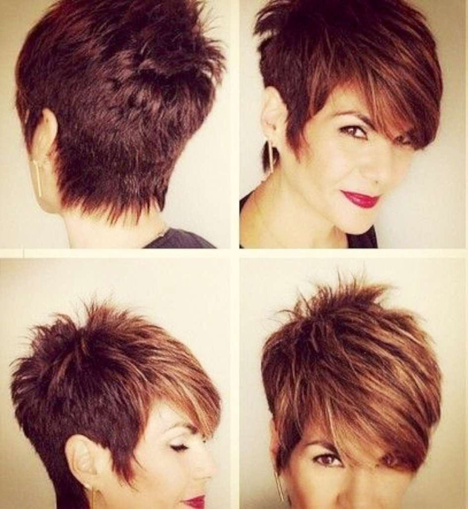 Awesome Womens Short Hairstyles Pictures – Styles & Ideas 2018 Within Most Recent Pixie Hairstyles With Fringe (View 9 of 15)