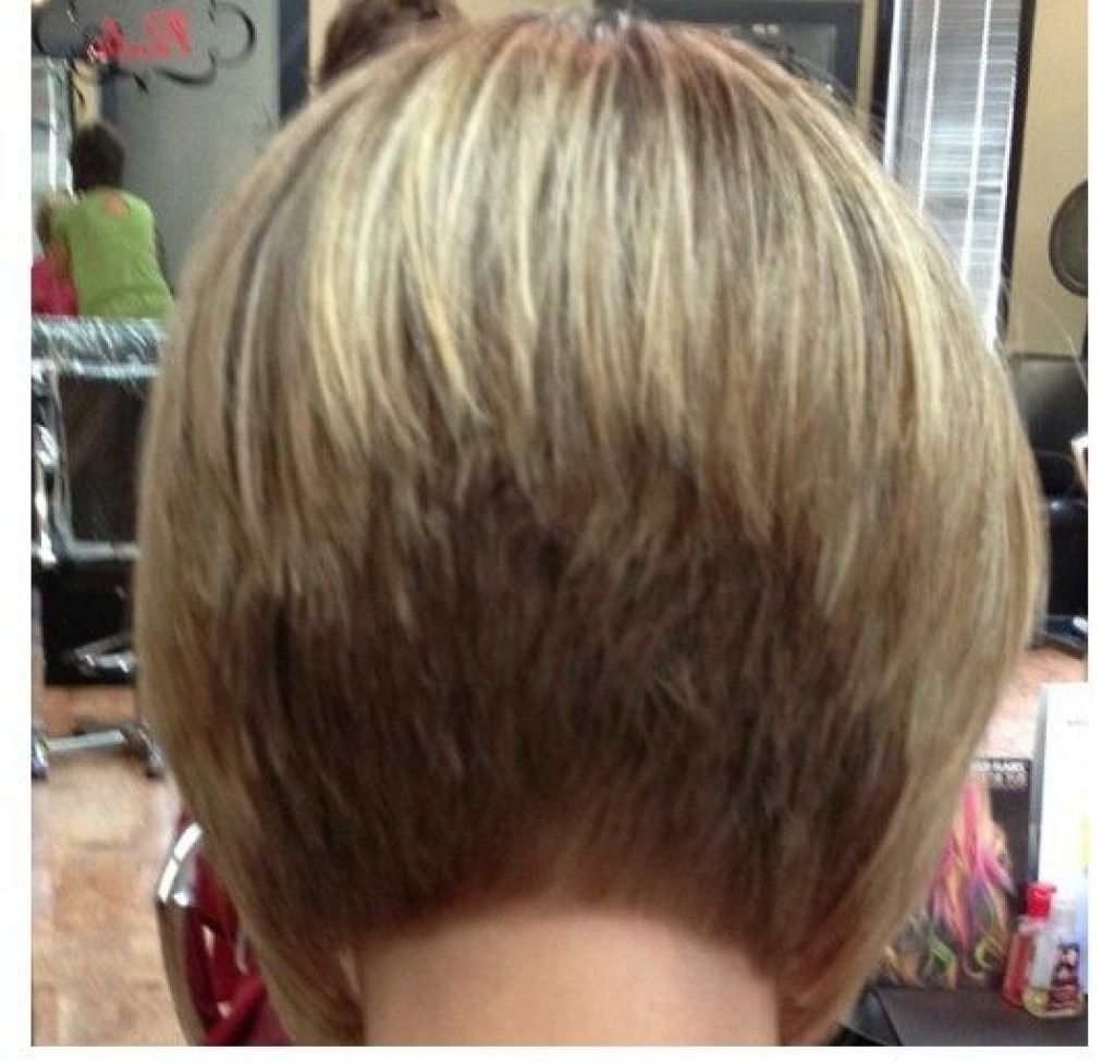 Back View Of Medium Layered Hairstyles – Hairstyle For Women & Man For Most Popular Pixie Hairstyles With Stacked Back (View 14 of 15)