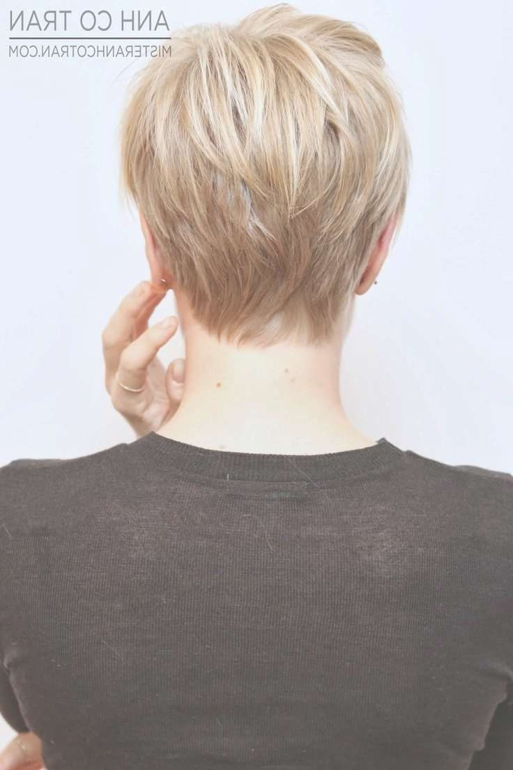 Back View Of Short Pixie Hairstyles – Hairstyles Ideas With Regard To Most Up To Date Back Views Of Pixie Hairstyles (View 2 of 15)