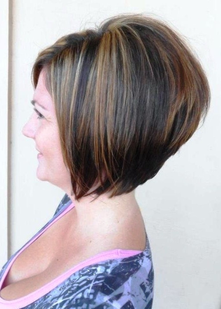 Beautiful Short Stacked Hairstyles Back View Photos – Styles Within Most Popular Pixie Hairstyles With Stacked Back (View 15 of 15)