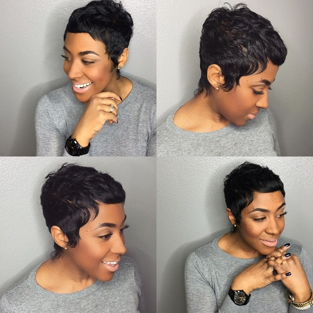 Beautifuli So Love This | Hair & Beauty | Pinterest | Pixies In 2018 Pixie Hairstyles With Weave (View 7 of 15)