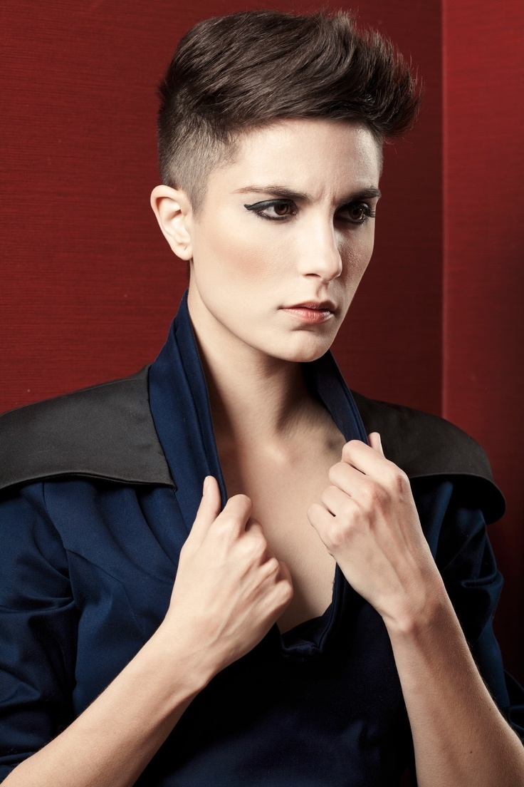 Best 25+ Shaved Sides Pixie Ideas On Pinterest | Pixie Cut Shaved With Recent Buzzed Pixie Hairstyles (View 3 of 15)