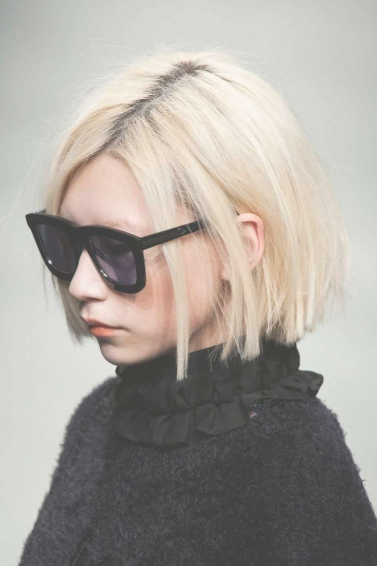Best 25+ Short Blunt Hair Ideas On Pinterest | Blunt Bob For Most Popular Blunt Pixie Hairstyles (View 9 of 16)