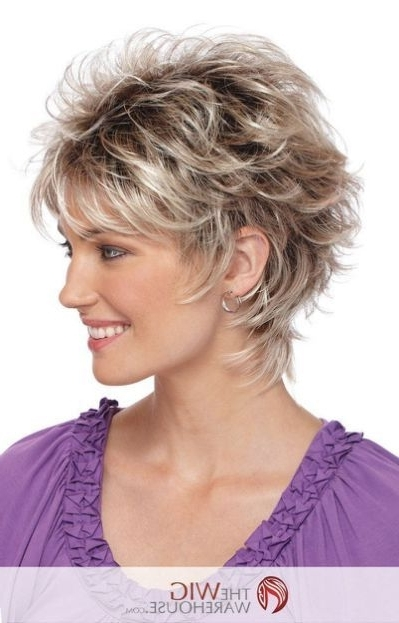 Explore Photos of Short Shaggy Hairstyles For Curly Hair (Showing 7 ...