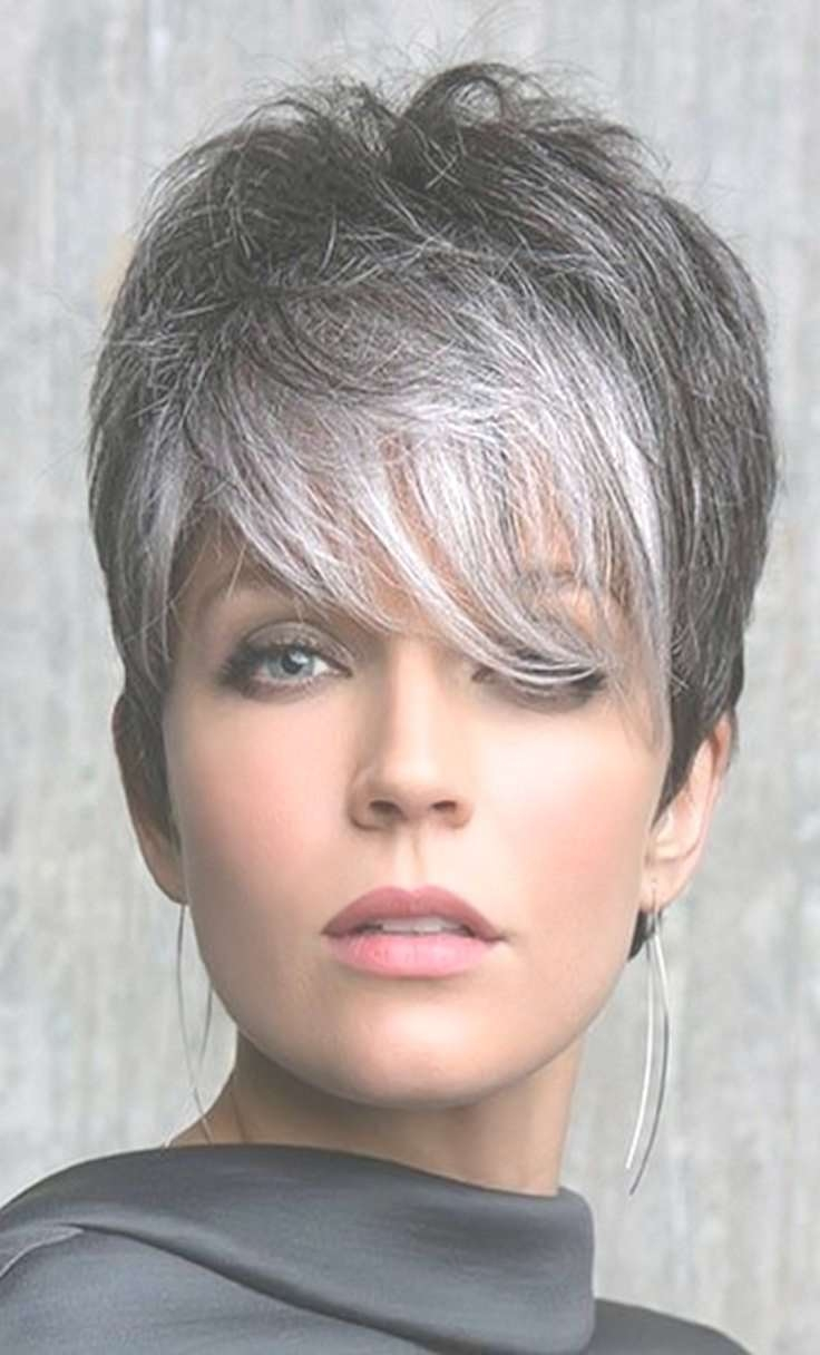 Best 25+ Short Silver Hair Ideas On Pinterest | Grey Bob, Grey For Latest Blunt Pixie Hairstyles (View 11 of 16)