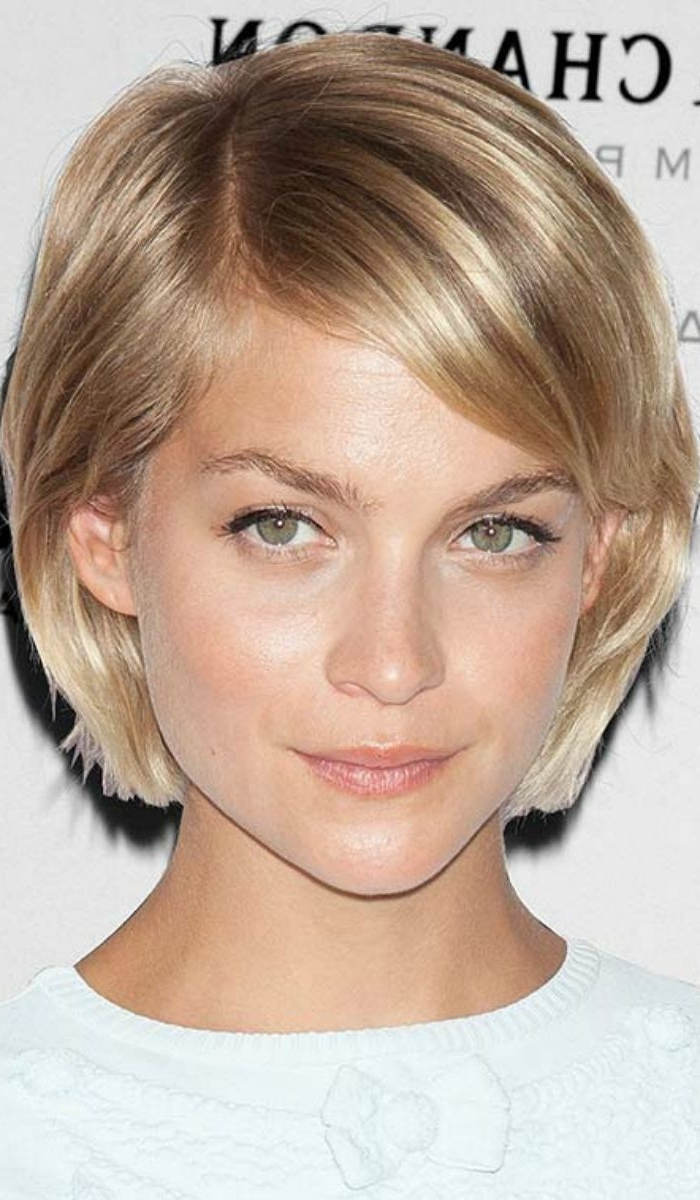 Best 25+ Short Straight Hairstyles Ideas On Pinterest | Short In Most Up To Date Pixie Hairstyles For Straight Hair (View 5 of 15)