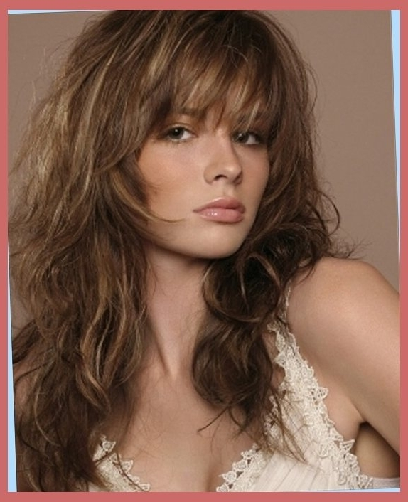 Best Curly Shag Haircuts | Hairstyles 2016 – Best Haircuts And With Newest Long Shag Hairstyles (View 8 of 15)