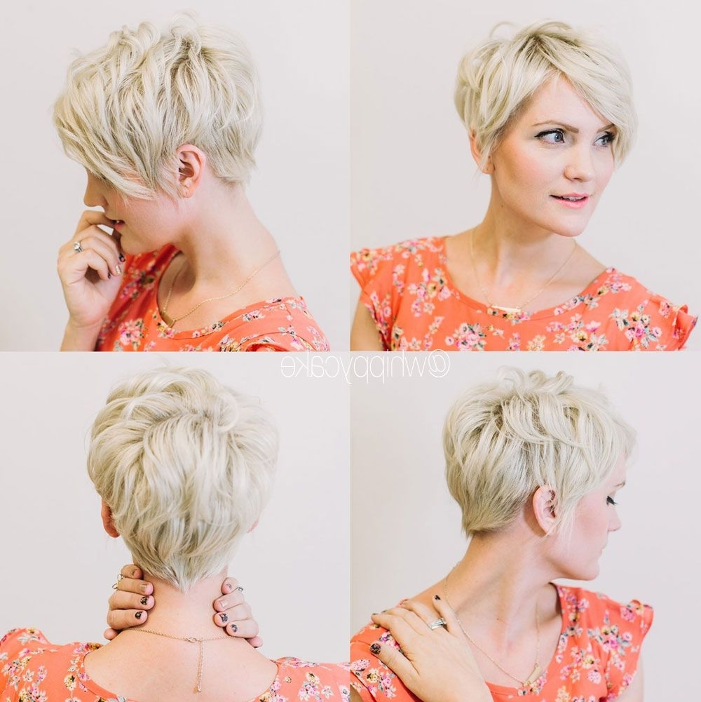 Best Pixie Haircut Autumn And Photos Long Tumblr For Laptop High Intended For Most Recent Pixie Hairstyles Front And Back (View 14 of 15)