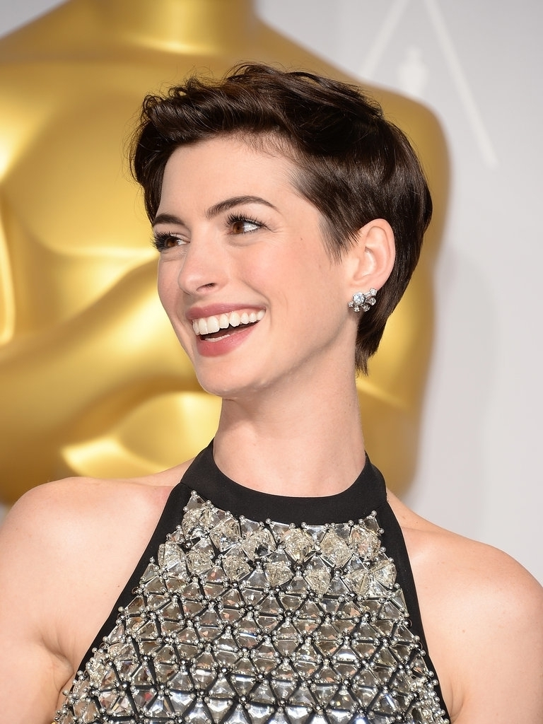 Best Pixie Haircut Images Anne Hathaway Best Pixie Hairstyles For In Most Current Pixie Hairstyles For Men (View 4 of 15)