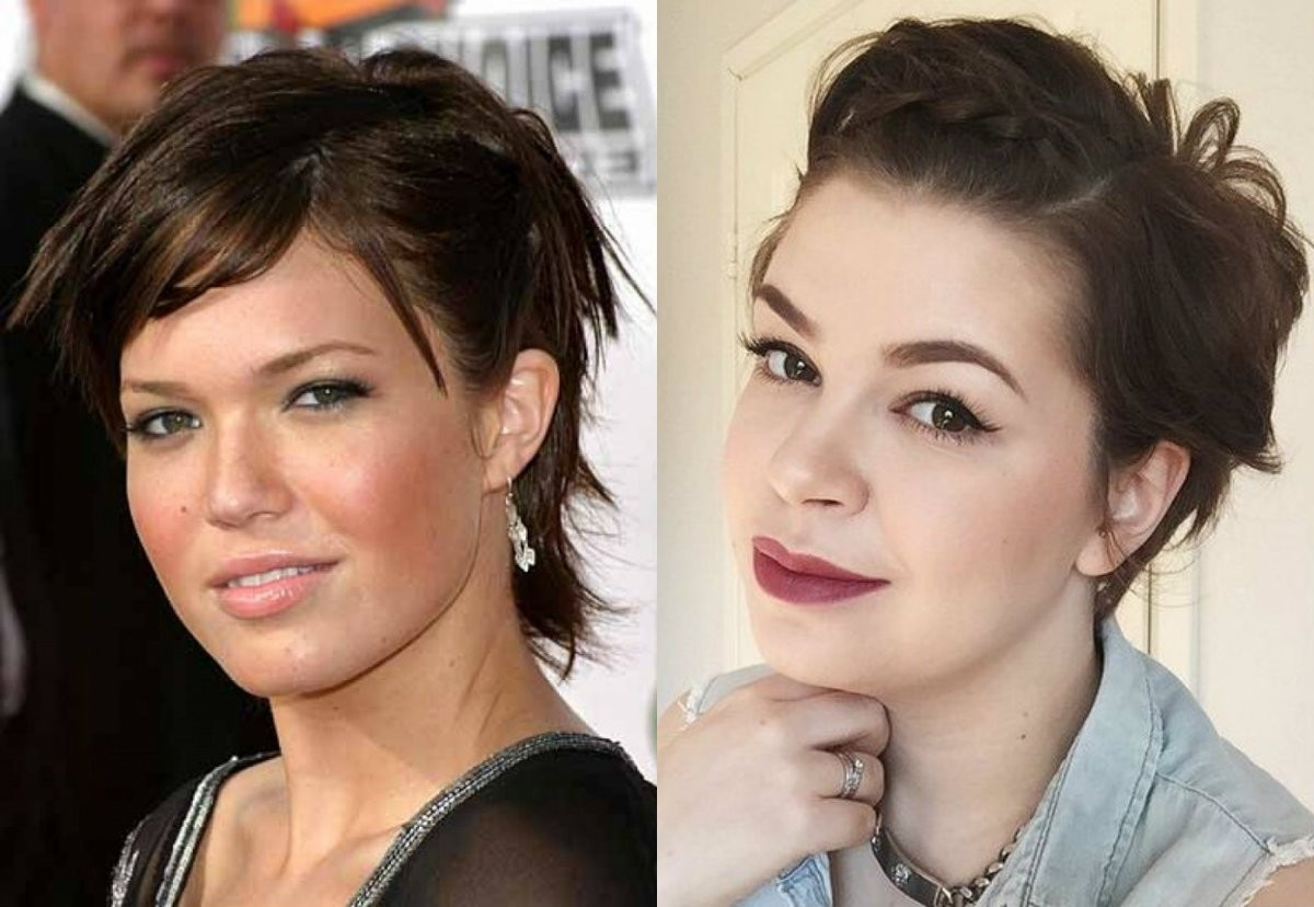 Best Pixie Haircuts For Round Faces 2017   Hairdrome • Enciclopedia With Current Pixie Hairstyles For Oval Face (View 13 of 15)