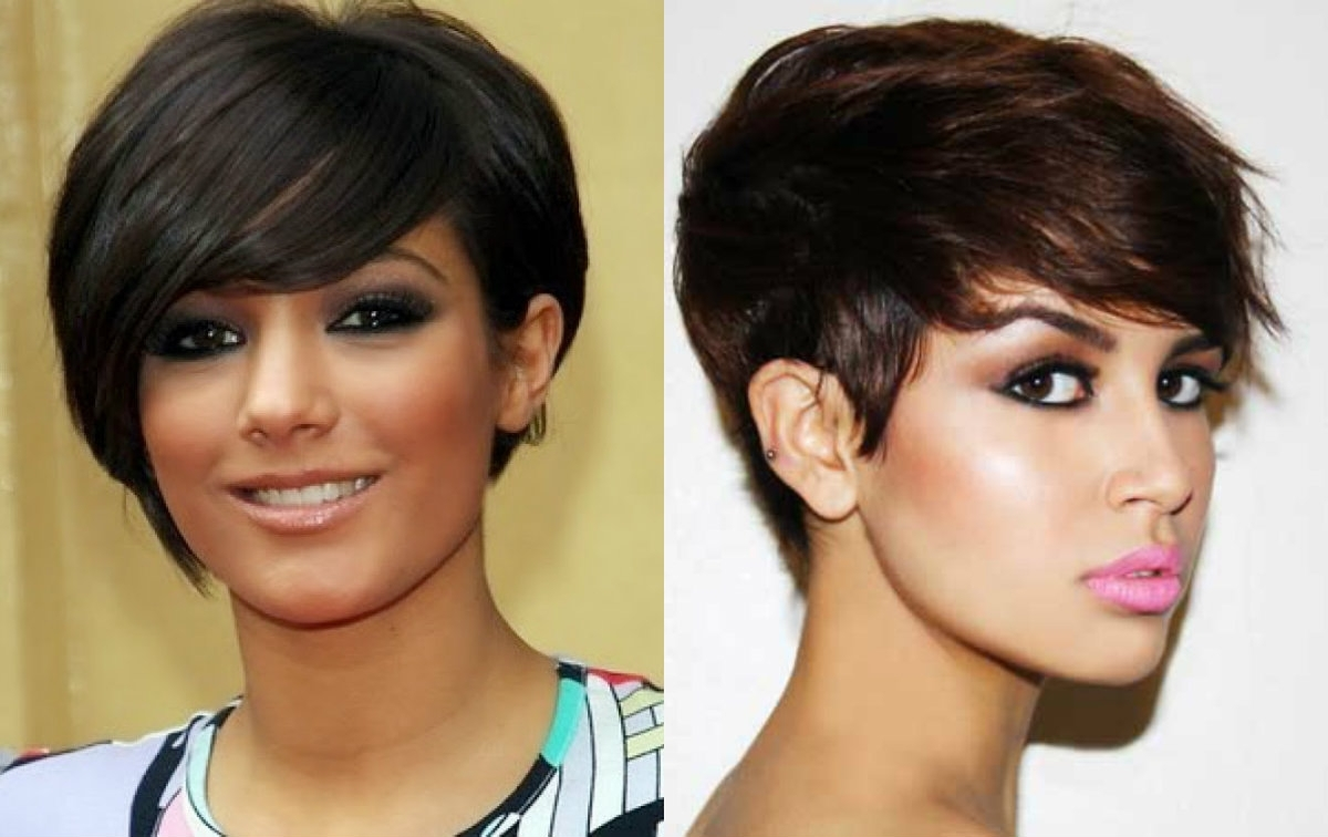 Best Pixie Haircuts For Round Faces 2017 | Hairdrome In Newest Pixie Hairstyles For Long Faces (View 11 of 15)
