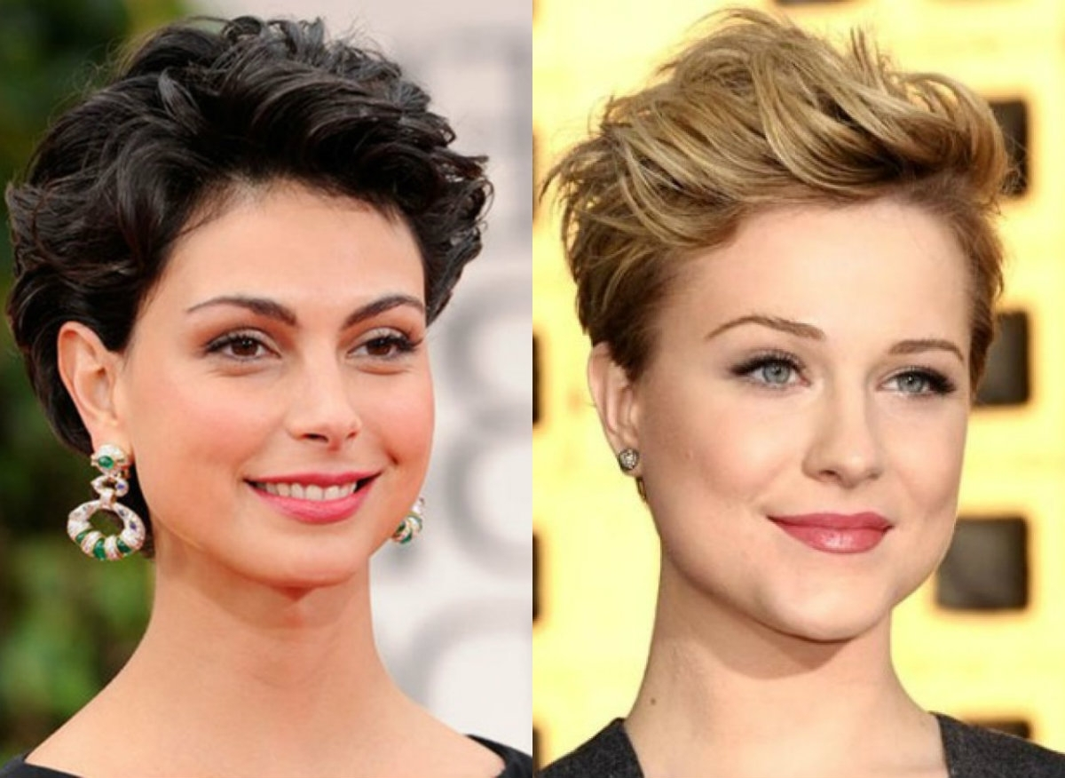 Best Pixie Haircuts For Round Faces 2017 | Hairdrome With Regard To 2018 Pixie Hairstyles For Round Face (View 3 of 15)