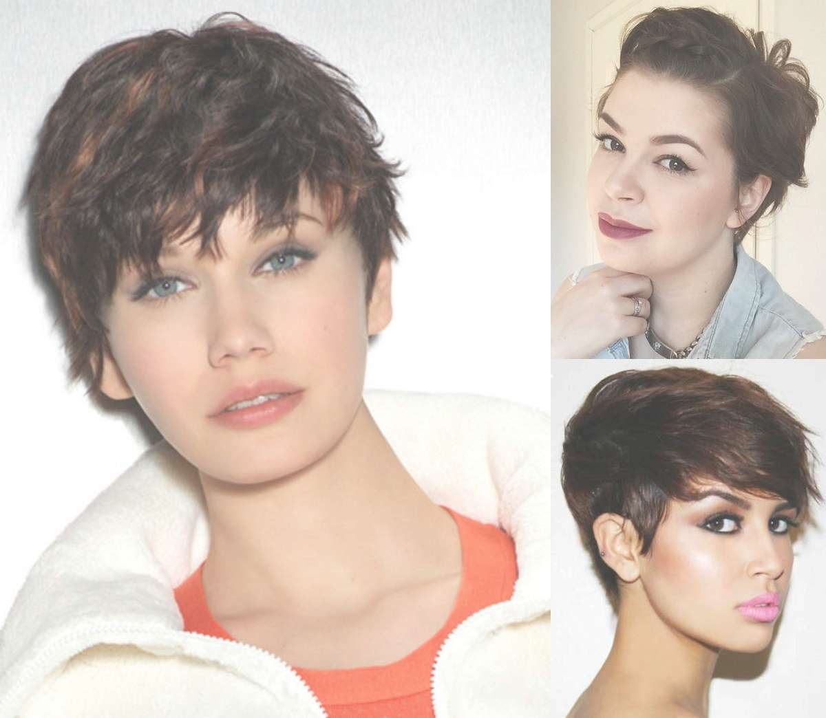 Best Pixie Haircuts For Round Faces 2017 | Hairdrome Within Recent Pixie Hairstyles For Oval Face Shape (View 10 of 16)