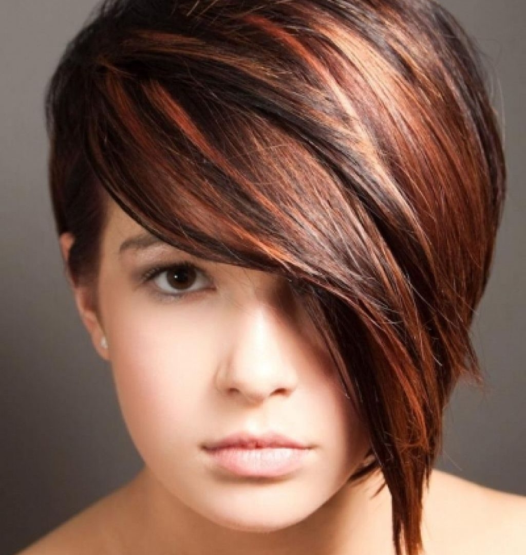 Best Pixie Hairstyles Images On Pinterest Cuts With Long Bangs Inside Best And Newest Long Bang Pixie Hairstyles (View 15 of 15)