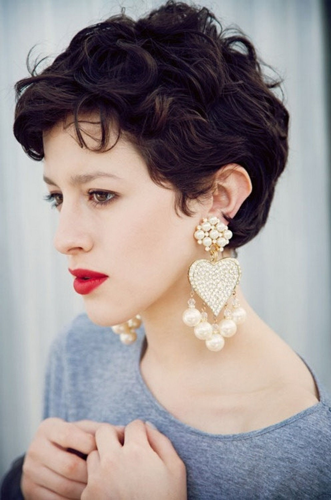 View Photos Of Short Pixie Hairstyles For Round Face Showing 13 Of