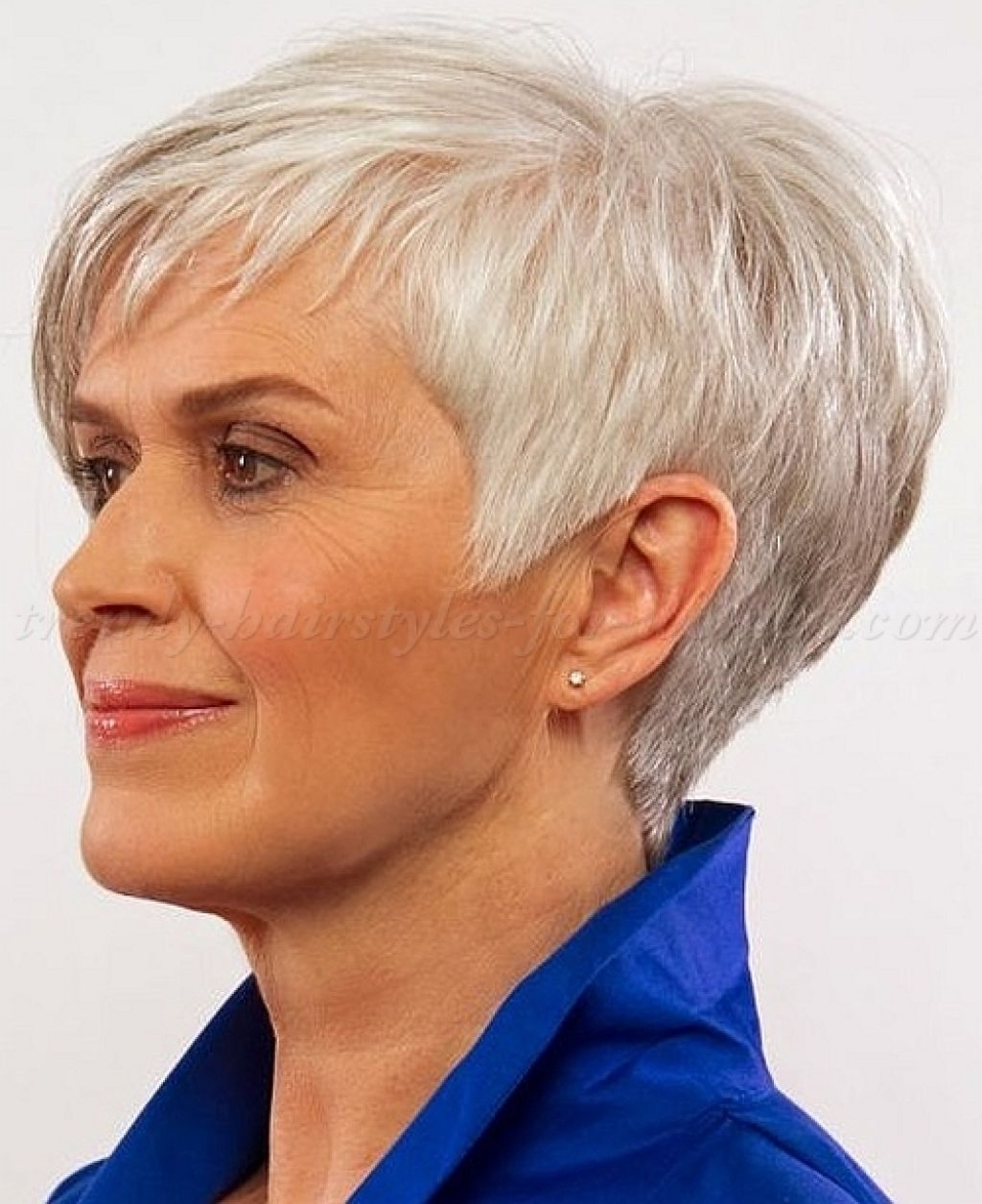 Best Short Hairstyle For Women Over 60 Contemporary – Styles Throughout Best And Newest Pixie Hairstyles For Women Over (View 4 of 15)
