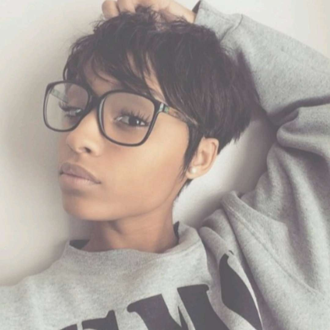 Black Girls Club : Photo | Black Hairstyles | Pinterest | Girls Pertaining To Most Popular Black Girl Pixie Hairstyles (View 5 of 15)
