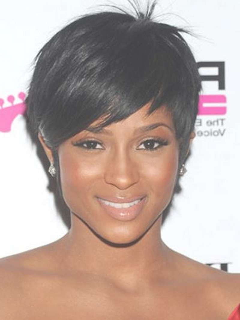 Black Short Pixie Hairstyles – Hairstyles Ideas In Current Black Short Pixie Hairstyles (View 7 of 15)