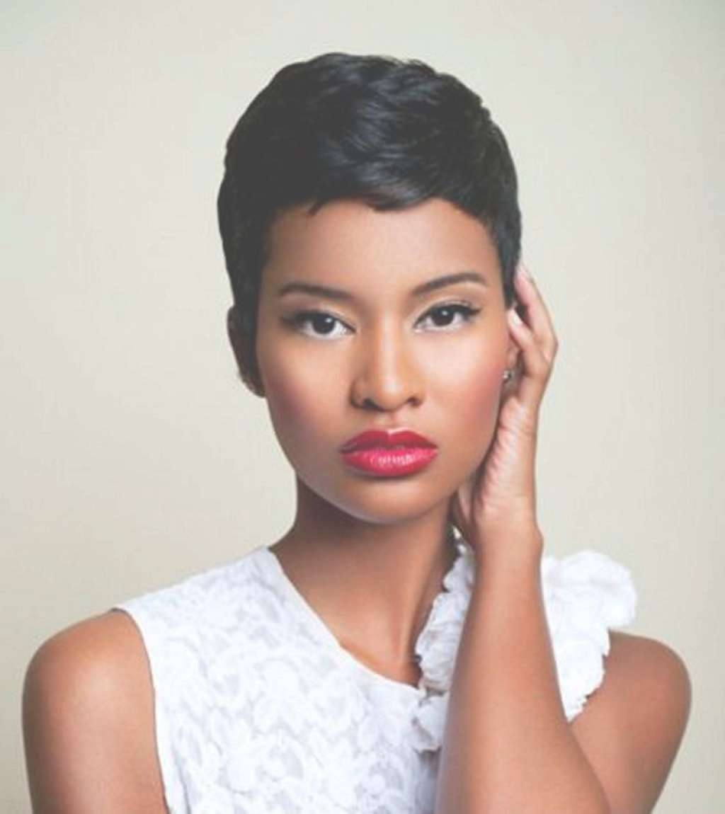 Black Women Short Pixie Hairstyles – Popular Long Hairstyle Idea With Best And Newest Black Women With Pixie Hairstyles (View 8 of 15)