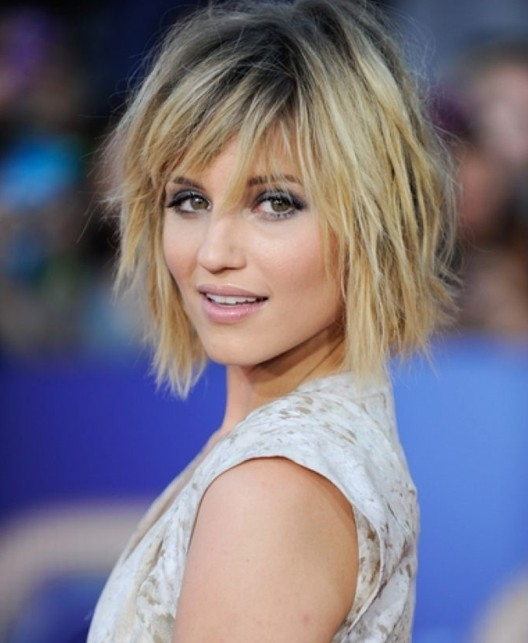 Blonde Short Shag Hairstyle – Pretty Designs With Regard To Most Up To Date Blonde Shaggy Hairstyles (View 2 of 15)