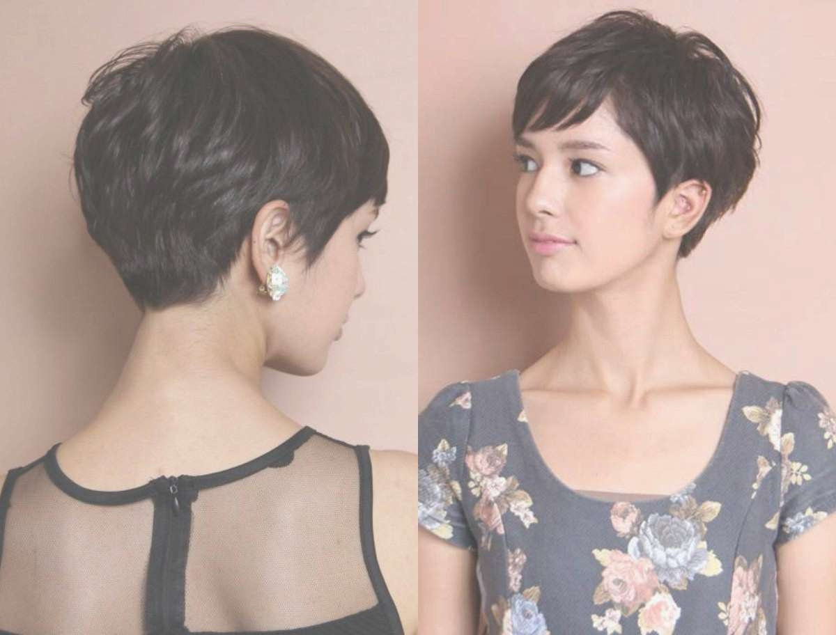 Bob Hairstyles : Awesome Hairstyles Pixie Bob Idea In Hair Intended For Most Popular Bob And Pixie Hairstyles (View 16 of 16)