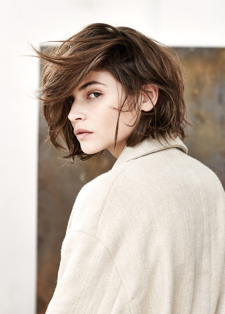 Camila Falquez – S/s Campaign For Mango | Beauty // | Pinterest Throughout Most Recent Hipster Pixie Hairstyles (View 6 of 15)