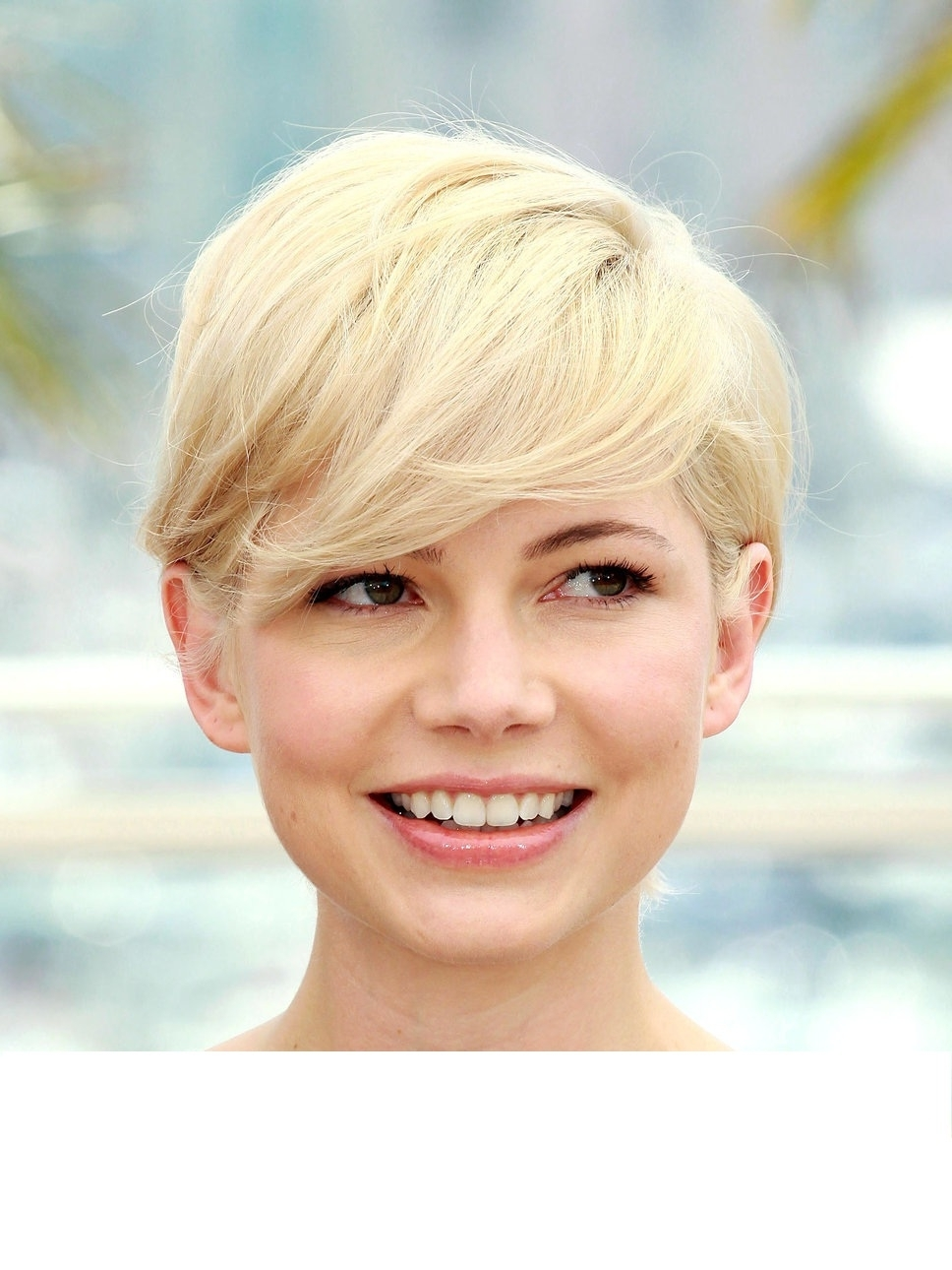 Celebrity Short Pixie Haircuts For Round Face With Long Side Bang Within Most Recently Long Pixie Hairstyles For Round Face (View 13 of 15)