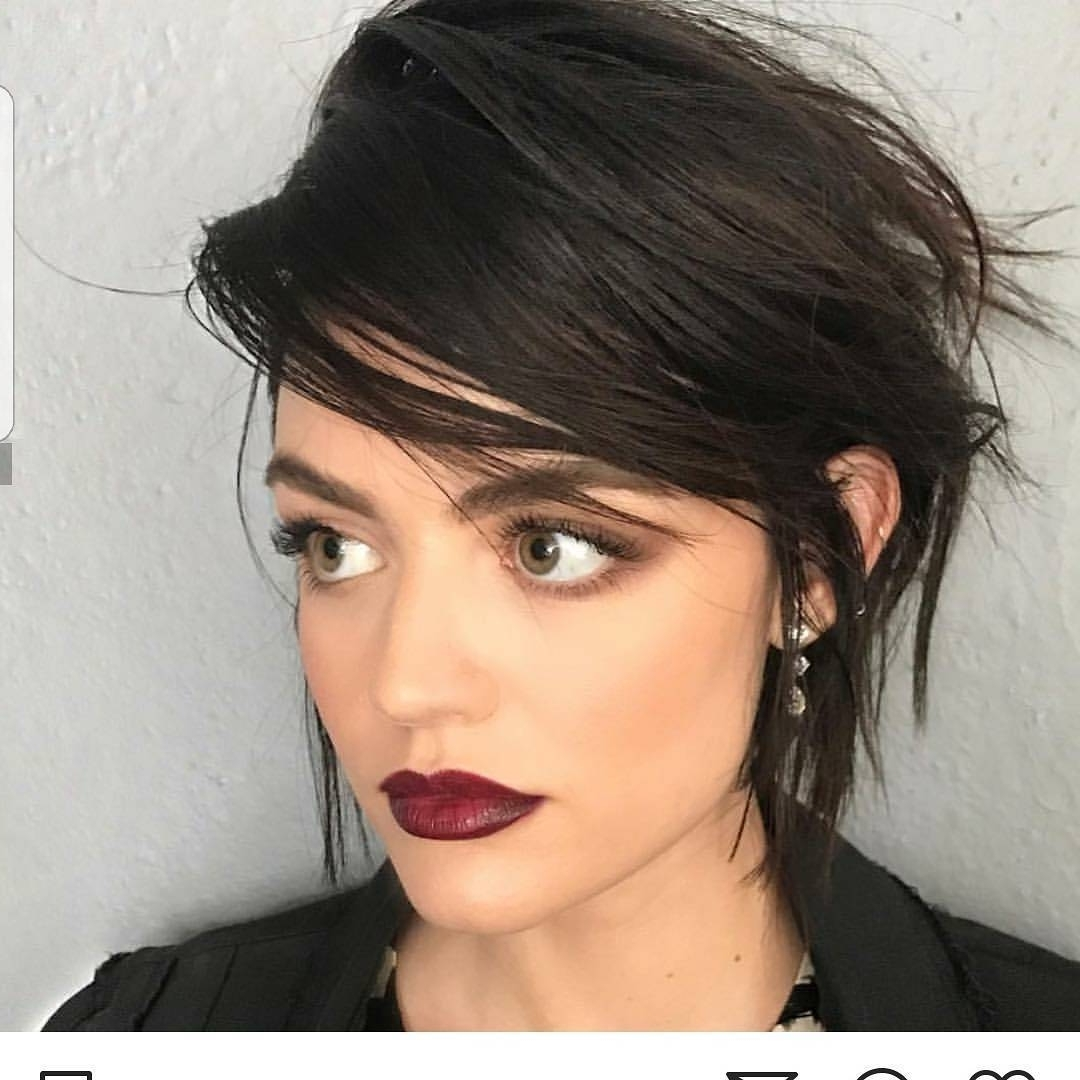 Chic Long Pixie Hairstyles Wallpaper Haircut Thick Hair Of Pc Hd Pertaining To Recent Pixie Hairstyles For Wavy Hair (View 14 of 15)